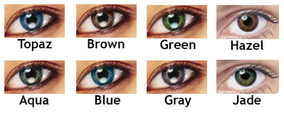 how to make your eyes change colors without contacts