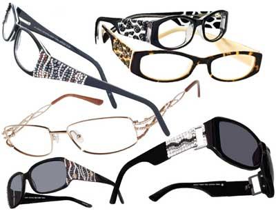 Jimmy Crystal Designer Frames