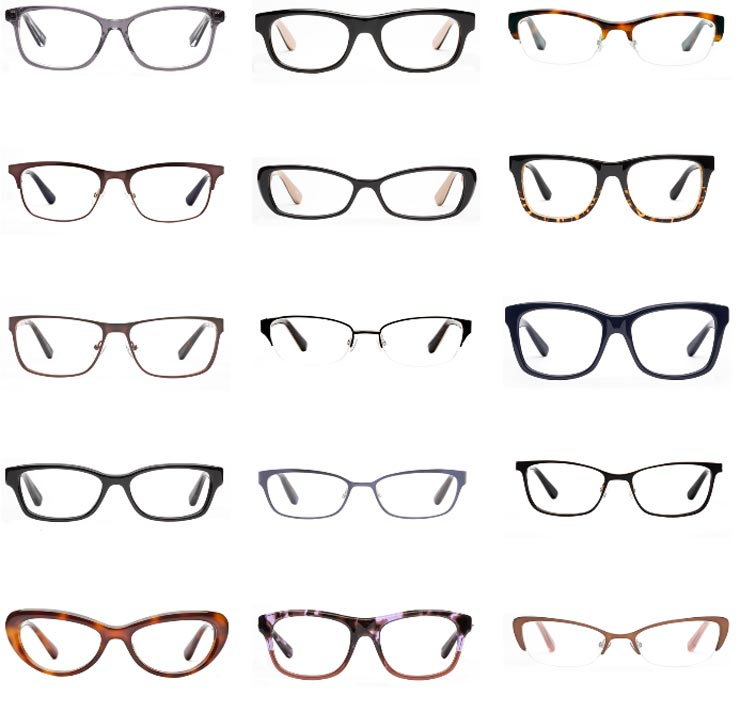 Types Of Glasses Frames - Page 2 - Frame Design & Reviews ✓